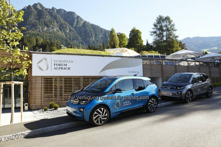 BMW Group seit 10 Jahren Mobilitätspartner des Europäischen Forum Alpbach : Fotocredit © BMW Group