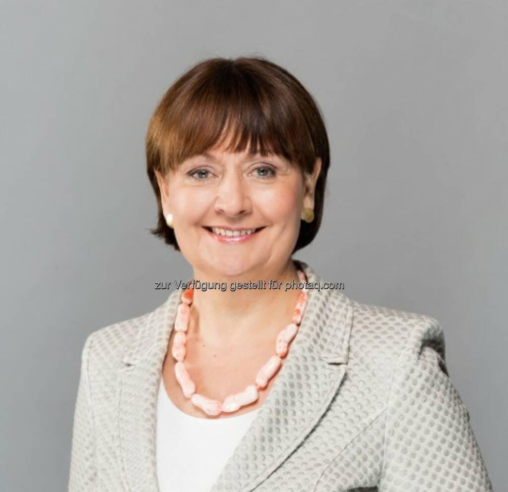 Herta Stockbauer (BKS Bank-Vorstandsvorsitzende) : Halbjahresergebnis - BKS Bank profitiert von hoher Kundenzufriedenheit : Fotocredit ©Gleiss, © Aussender (26.08.2016)
