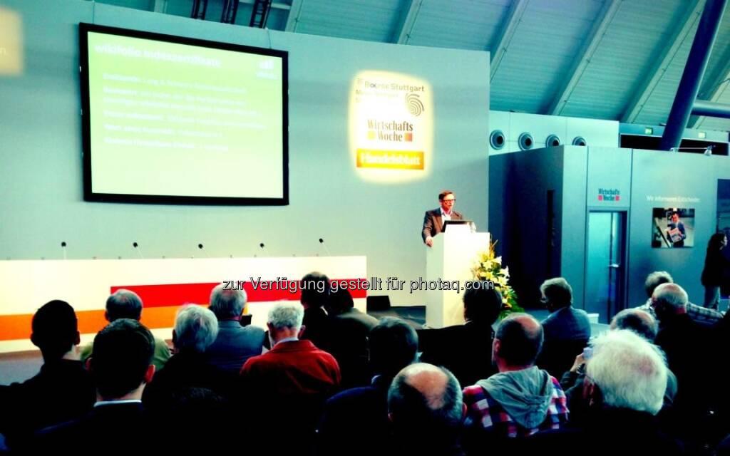 wikifolio - Invest 2013, Vortrag, © wikifolio (24.04.2013)