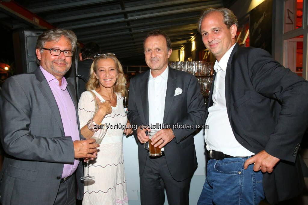 Alexander Wrabetz, Kathrin Zechner, Thomas Prantner und Martin Biedermann (alle ORF), © APA-Fotoservice/Ludwig Schedl (30.08.2016)