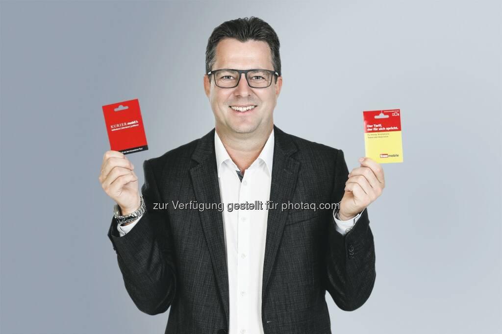 "Horst A. Pensold (Leitung Sales & Services bei Mediaprint) : ""Krone mobile"" und ""Kurier mobil"": Mediaprint launcht eigenen Telefon- und Datentarif : Fotocredit: Kronen Zeitung/Reinhard Holl, © Aussender (31.08.2016)"