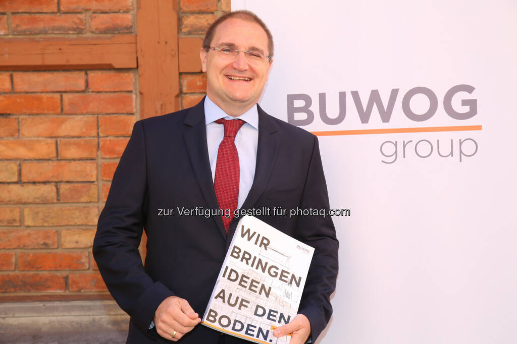 Andreas Segal (Stellvertretender CEO, CFO), © Buwog AG/APA-Fotoservice/Schedl (31.08.2016)