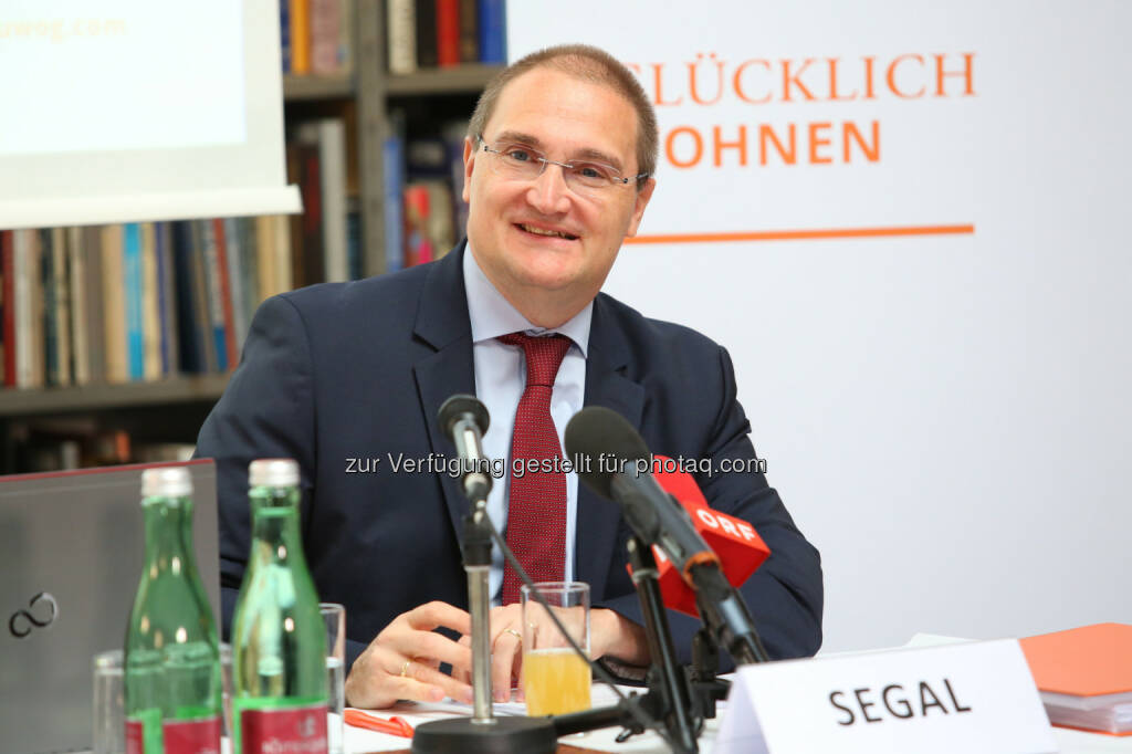 Andreas Segal (stv. CEO, CFO), © Buwog AG/APA-Fotoservice/Schedl (31.08.2016)