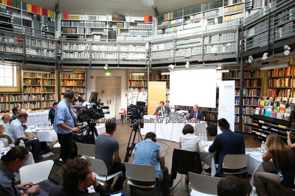 Bilanzpressekonferenz der Buwog AG, © Buwog AG/APA-Fotoservice/Schedl (31.08.2016)