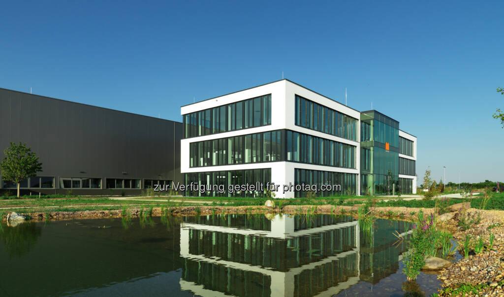 Maschinenbauer Maplan Werk Kottingbrunn : Neues Produktionswerk samt Bürogebäude im ecoplus-Wirtschaftspark von Kottingbrunn : Fotocredit: Erich Hussmann, © Aussendung (01.09.2016)