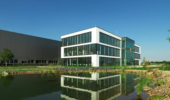 Maschinenbauer Maplan Werk Kottingbrunn : Neues Produktionswerk samt Bürogebäude im ecoplus-Wirtschaftspark von Kottingbrunn : Fotocredit: Erich Hussmann