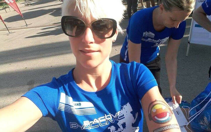 Lilian Kuster Runplugged Tattoo Vision Run