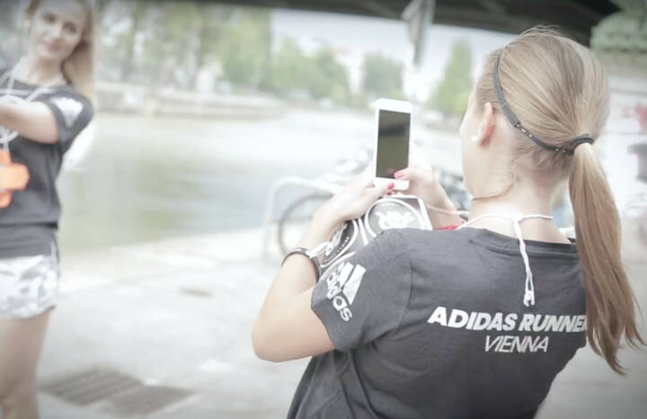 Foto adidas runners Wien