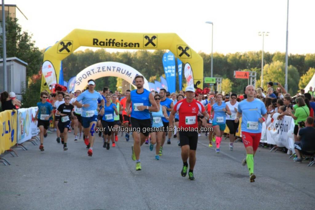 Vision Run, Raiffeisen, © Vision Run, Foto Viertbauer (05.09.2016)