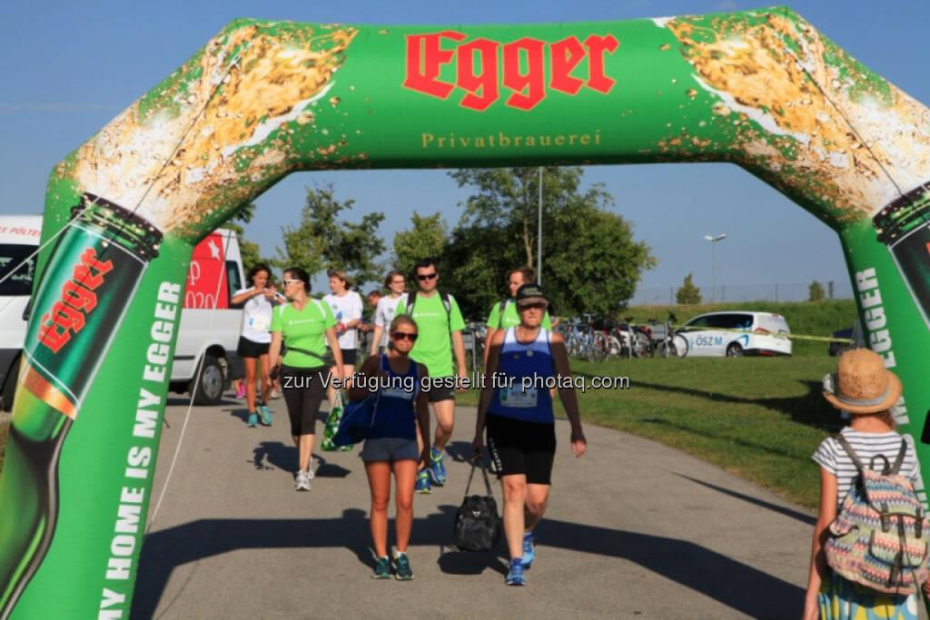 Vision Run, Egger Bier, © Vision Run, Foto Viertbauer (05.09.2016)