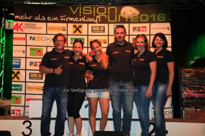 Vision Run, Siegerehrung
