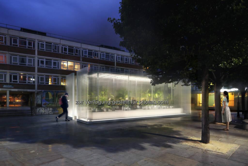 MINI Living - Forests. connect space : MINI zeigt Installation auf dem London Design Festival 2016 in Kooperation mit Asif Khan : Third Places – Räume zwischen dem Zuhause und dem Arbeitsplatz : Fotocredit: ©BMW Group (05.09.2016)