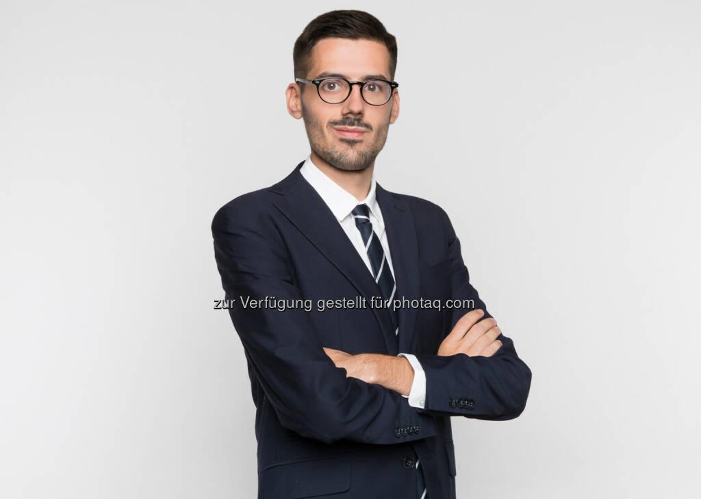 Markus Kiesenhofer ist neuer Pressesprecher beim Verband Österr. Zeitungen (VÖZ) : Fotocredit: VÖZ/Mario Kiesenhofer, © Aussender (05.09.2016)