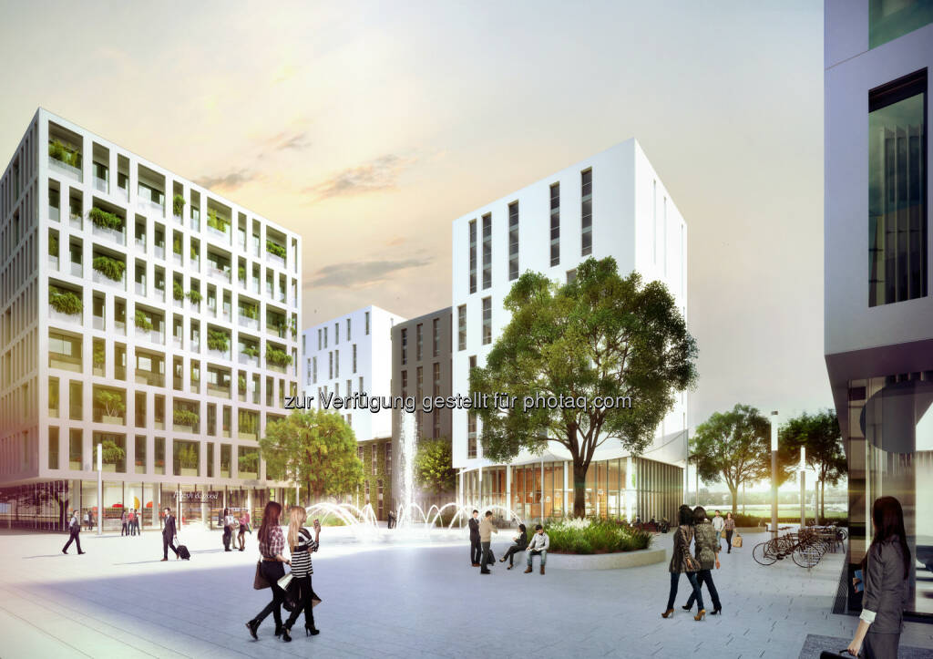 Studentenapartments in Nachbarschaft der WU Wien : IC Development expandiert mit Milestone Student Living international : 2017 werden mehr als 900 Apartments an drei neuen Standorten in Wien, Leoben und Budapest eröffnet : Fotocredit: IC Development / Visualisierung: Office Le Nomade, © Aussendung (06.09.2016)