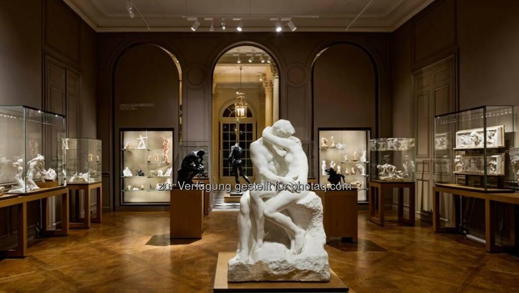 Präsentation der Werke von Rodin im Hotel Biron in Paris : Licht als Kernelement eines museografischen Projekts : Fotocredit ©Zumtobel, © Aussendung (06.09.2016)