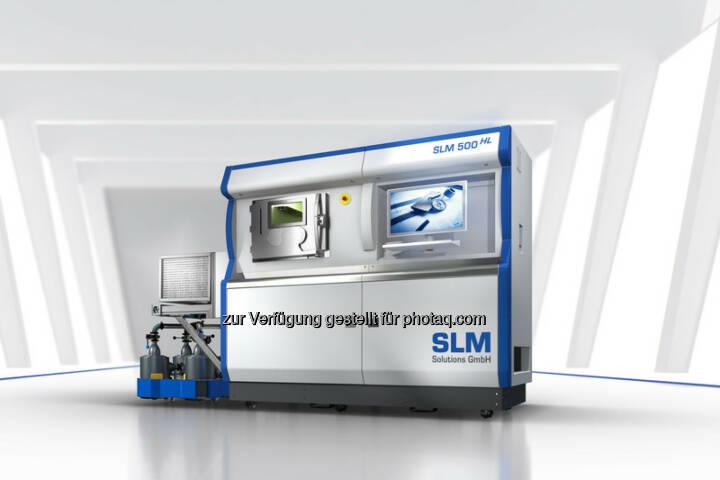 SLM Anlagen (Bild: SLM Solutions https://slm-solutions.de/presseportal/bildmaterial-slm-anlagen )