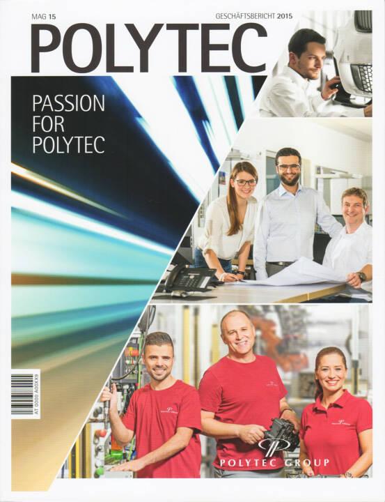 Polytec Geschäftsbericht 2015 - http://boerse-social.com/companyreports/show/polytec_geschaftsbericht_2015