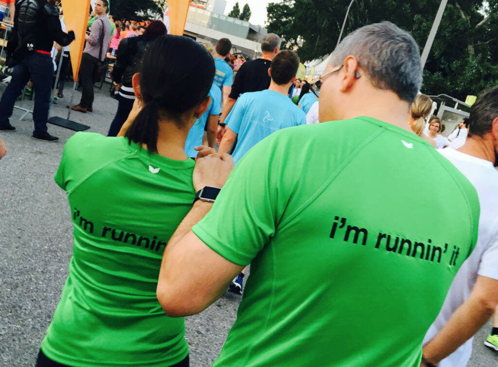 Mc Donalds I`m runnin it - Firmen beim Wien Energie Business Run 2016 (08.09.2016)