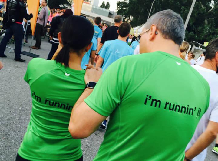 Mc Donalds I`m runnin it - Firmen beim Wien Energie Business Run 2016