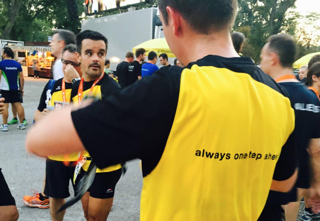 Kapsch - Firmen beim Wien Energie Business Run 2016 (08.09.2016)
