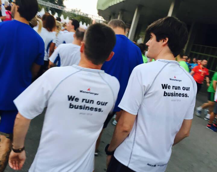 Wienerberger - Firmen beim Wien Energie Business Run 2016