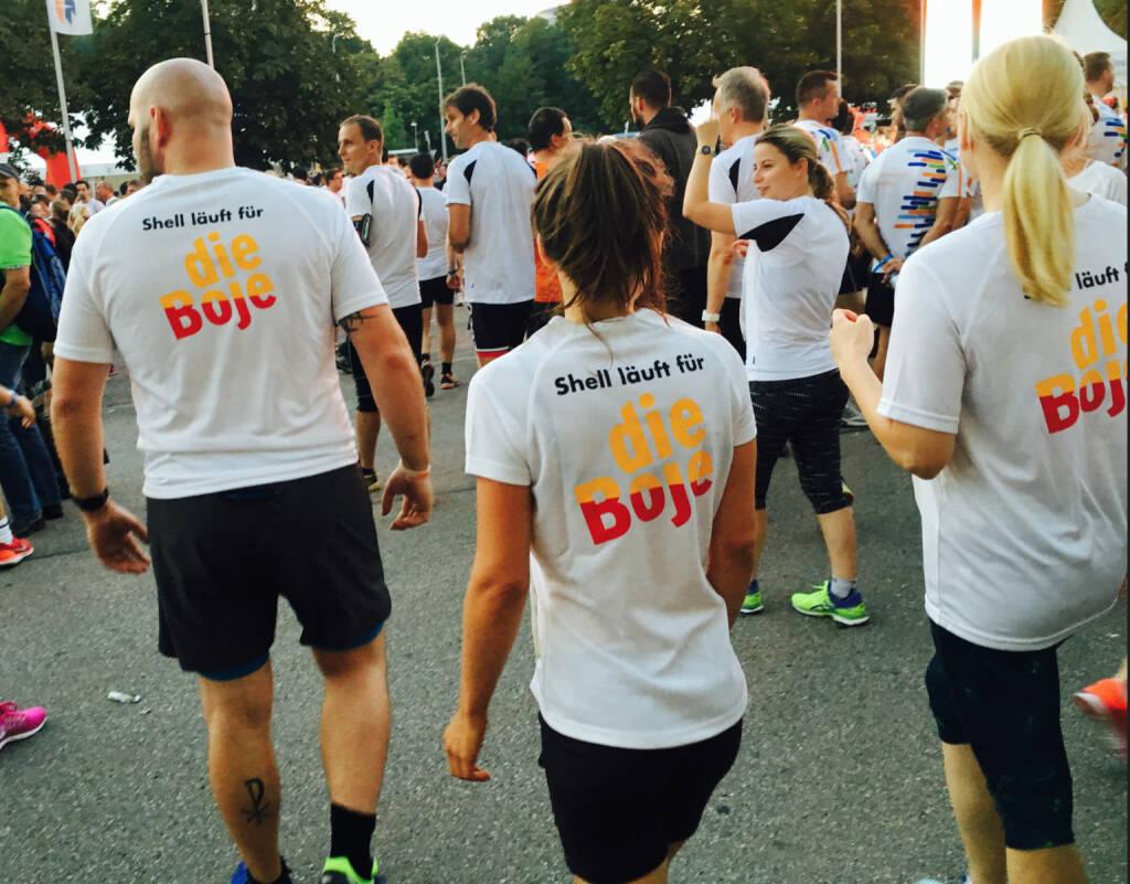 Shell - Firmen beim Wien Energie Business Run 2016 (08.09.2016)