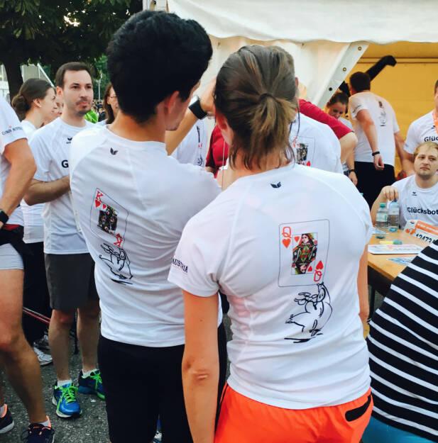 König Dame Casinos - Firmen beim Wien Energie Business Run 2016 (08.09.2016)