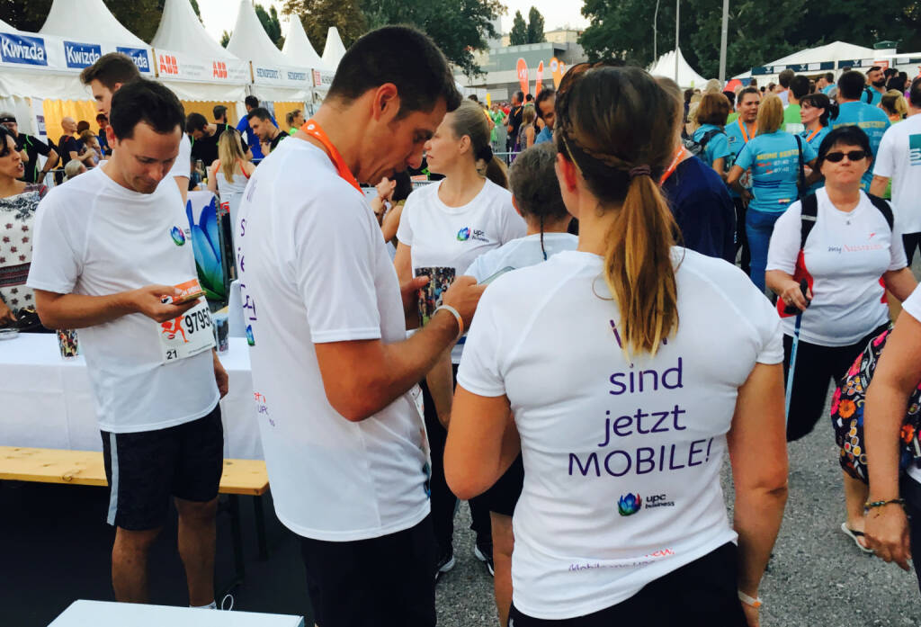 UPC - Firmen beim Wien Energie Business Run 2016 (08.09.2016)