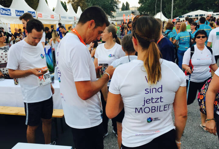 UPC - Firmen beim Wien Energie Business Run 2016