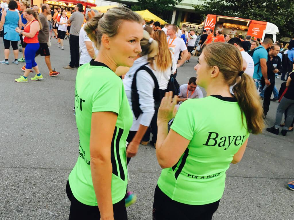 Bayer - Firmen beim Wien Energie Business Run 2016 (08.09.2016)