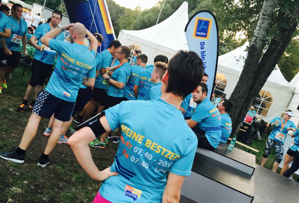 Hofer - Firmen beim Wien Energie Business Run 2016 (08.09.2016)