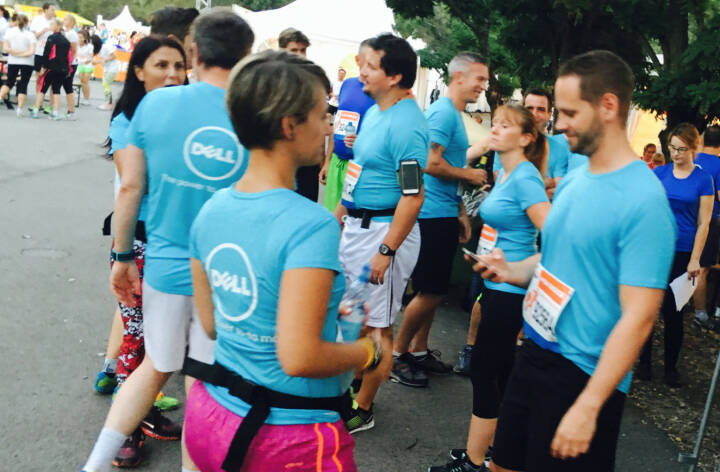 Dell - Firmen beim Wien Energie Business Run 2016