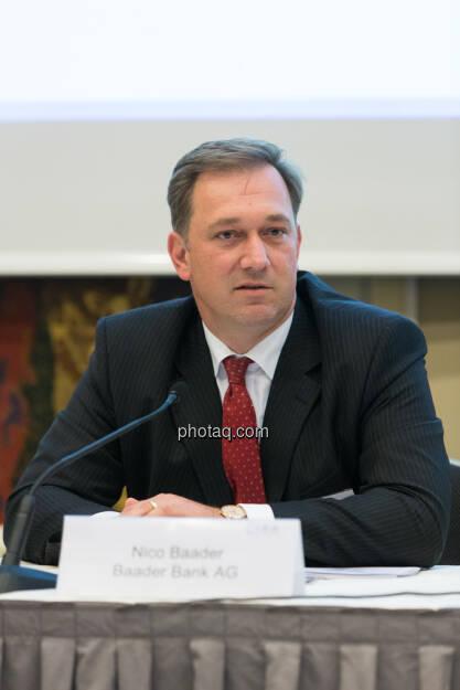 C.I.R.A. Konferenz in Wien: Nico Baader, Baader Bank, © Martina Draper (15.12.2012)