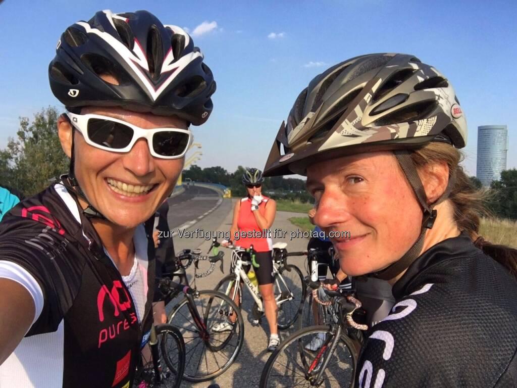 obligatorisches Pre-Start-Selfie mit Heidi Novy (10.09.2016)