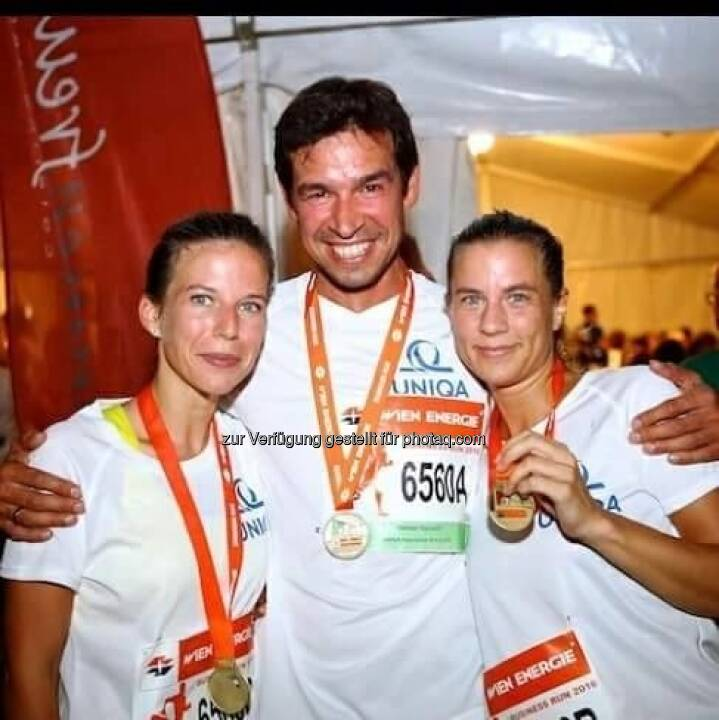 Tiana Majstorovic, Michael Oplustil und Carolina Burger