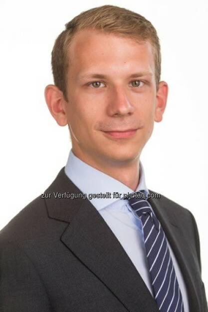 Philipp Steiner verstärkt seit Mai 2016 als Consultant das Valuation Team von CBRE Österreich in Wien : Fotocredit: CBRE Österreich, © Aussender (13.09.2016)