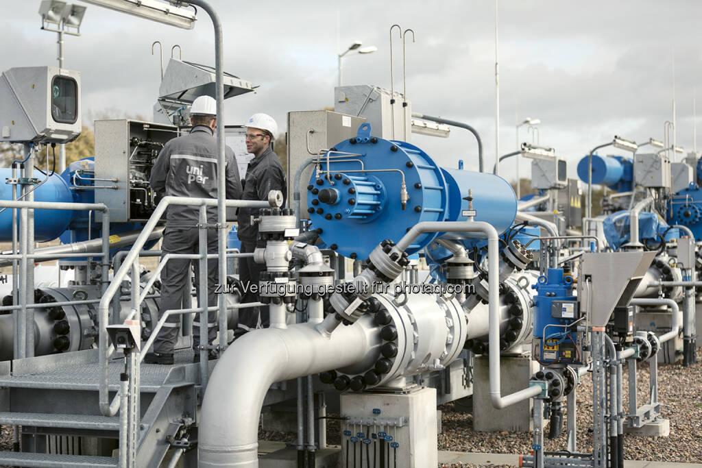 Uniper Mitarbeiter im Erdgasspeicher Etzel, © Uniper AG (13.09.2016)