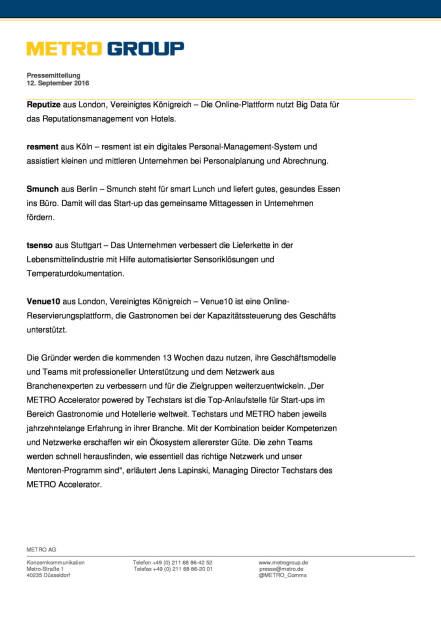 Metro Accelerator powered by Techstars: 2 Runde, Seite 3/5, komplettes Dokument unter http://boerse-social.com/static/uploads/file_1764_metro_accelerator_powered_by_techstars_2_runde.pdf (13.09.2016)