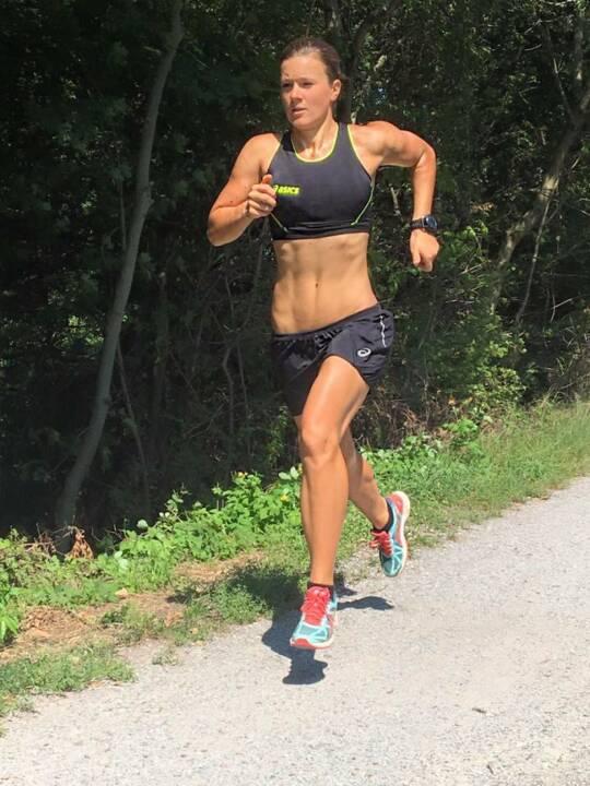 Tanja Stroschneider, laufen