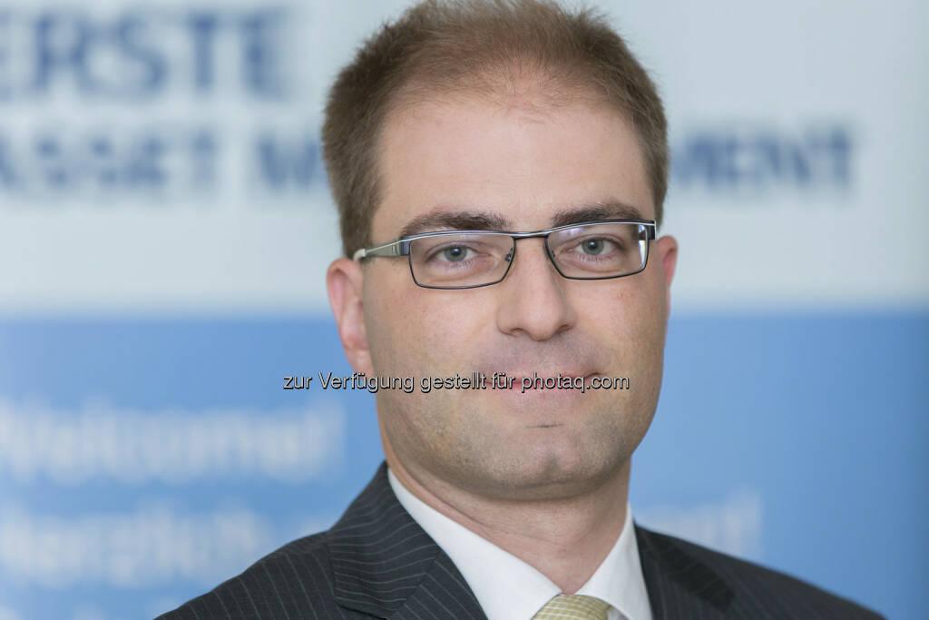 Michael Kukacka übernimmt Lead-Fondsmanagement bei Österreich- Aktienfonds von Erste-Spartinvest und Ringturm (c) Aussendung (25.04.2013)