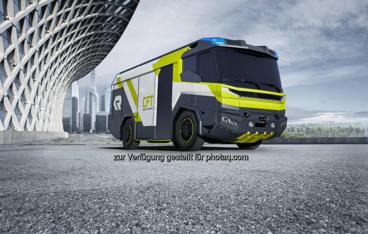 Concept Fire Truck (CFT)  Rosenbauer