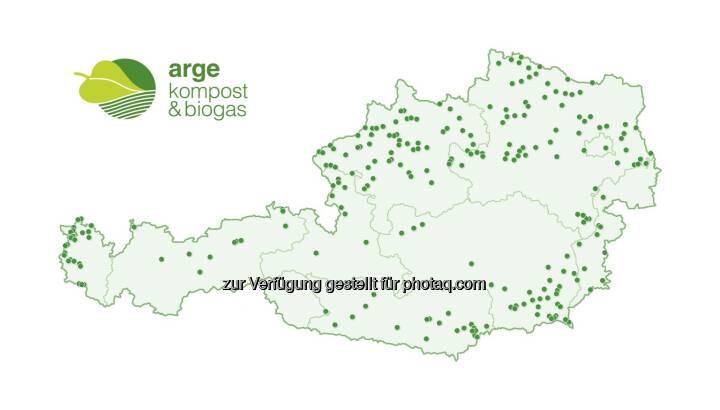 """Grafik """"Biogasanlagen in Österreich"""" : Fotocredit: ABKÖ"""