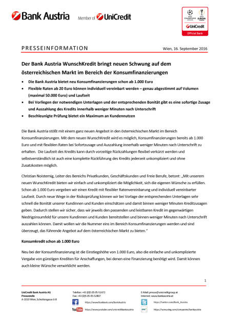 Bank Austria: WunschKredit, Seite 1/2, komplettes Dokument unter http://boerse-social.com/static/uploads/file_1780_bank_austria_wunschkredit.pdf (16.09.2016)