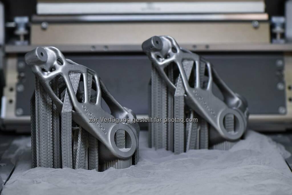 Im neu eröffneten voestalpine Additive Manufacturing Center in Düsseldorf wird Metallverarbeitung neu gedacht. Erste Teile aus dem 3D-Drucker zeigen, was möglich ist. http://bit.ly/2cBDMT3  Source: http://facebook.com/voestalpine, © Aussendung (16.09.2016)