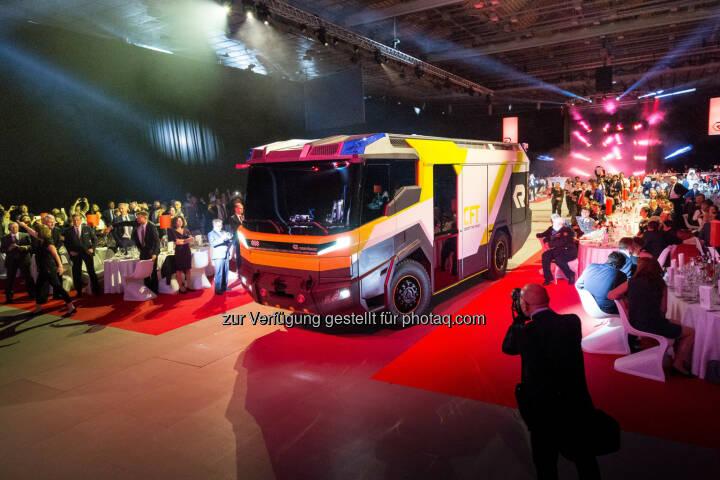 Präsentation Concept Fire Truck