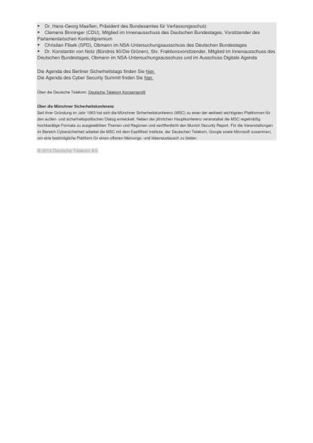 Deutsche Telekom: Erster Cyber-Gipfel auf zwei Kontinenten, Seite 2/2, komplettes Dokument unter http://boerse-social.com/static/uploads/file_1783_deutsche_telekom_erster_cyber-gipfel_auf_zwei_kontinenten.pdf (16.09.2016)