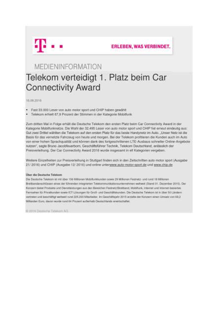 Deutsche Telekom: 1. Platz beim Car Connectivity Award, Seite 1/1, komplettes Dokument unter http://boerse-social.com/static/uploads/file_1787_deutsche_telekom_1_platz_beim_car_connectivity_award.pdf (16.09.2016)