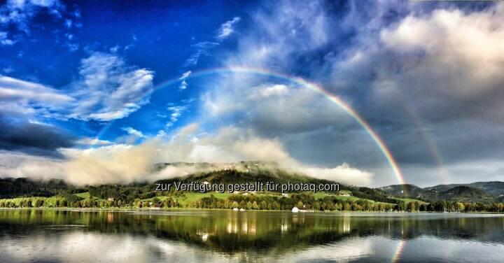 Regenbogen, Stubenbergsee
