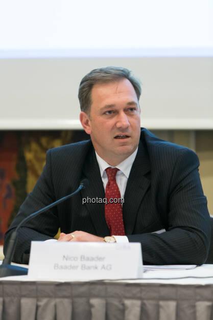 C.I.R.A. Konferenz in Wien, Nico Baader, Baader Bank, © Martina Draper (15.12.2012)