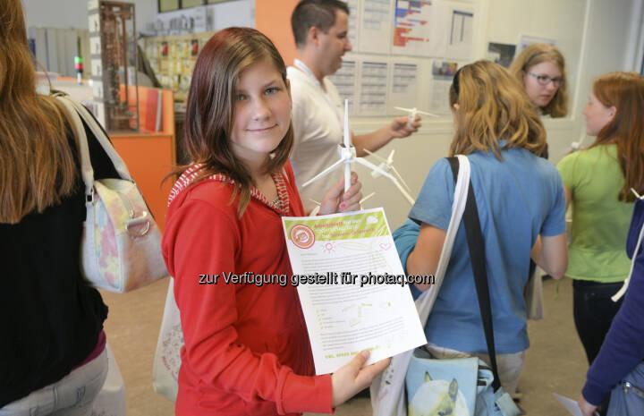 Ausgebuchter Töchtertag bei Siemens: Schülerinnen planen Windpark und schnuppern in technische Jobs (c) Siemens Austria
